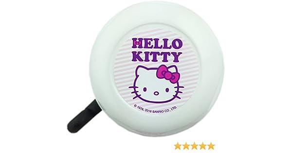Hello Kitty - Timbre para bicicleta, color blanco: Amazon.es ...