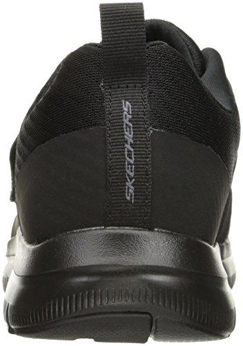 Uomo Gurn Nero nero Advantage Sneaker Skechers Flex pUf1WAcIc
