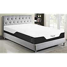 DynastyMattress NEW! CoolBreeze2 Medium-Firm Cooling Gel Memory Foam Mattress-SPLIT KING