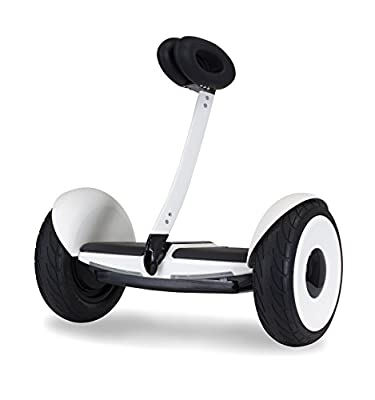 SEGWAY miniLITE- Smart Self Balancing Personal Transporter- Fully Integrated App Controls- up to 11 miles of range and 10 mph of top speed- 10.5 air filled pneumatic tires- UL Certified Safe from SDONA, LLC.