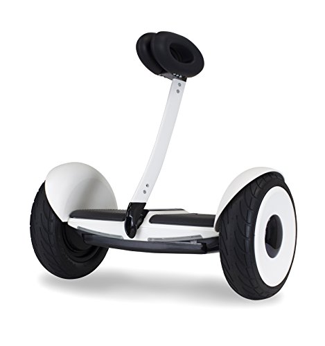 SEGWAY miniLITE- Smart Self Balancing Personal Transporter- Fully Integrated App Controls- up to 11 miles of range and 10 mph of top speed- 10.5 air filled pneumatic tires- UL Certified Safe