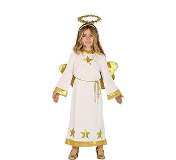 a7edfa77e Guirca Disfraz de Ángel con Estrellas para Niños: Amazon.es ...