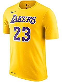 NIKE Unisex Los Angeles Lakers Lebron James Icon Player T-Shirt