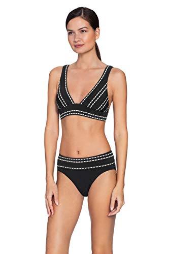 Robin Piccone Women's Naomi High Rise Bikini Bottom