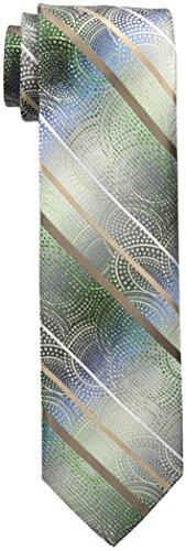 Van Heusen Men's Abstract Stripe Tie, Green, One Size ()