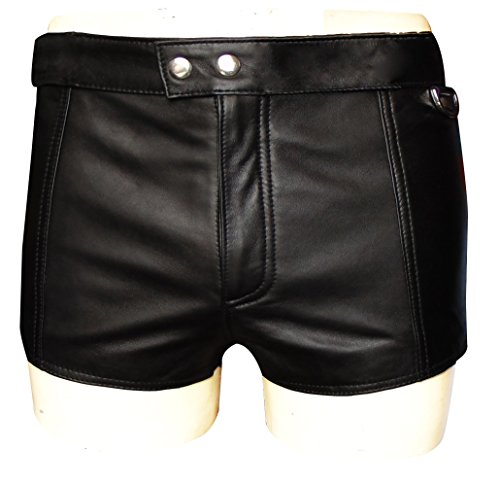Bespoke Tailored Leather -  Pantaloncini  - Uomo