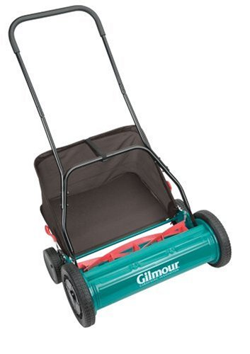 (Gilmour RM30 20-Inch Reel Mower with Grass Catcher )