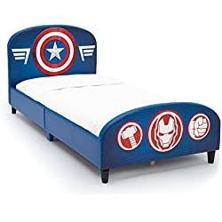 Delta Children Upholstered Twin Bed, Marvel Avengers