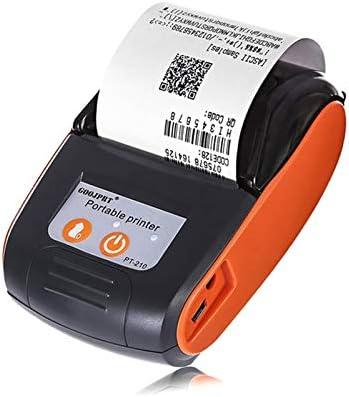 DZSF Impresora Bluetooth portátil móvil de 58 mm Impresora inalámbrica Bluetooth Mini térmica Impresora de Recibos Teléfono Android iOS,A: Amazon.es: Deportes y aire libre