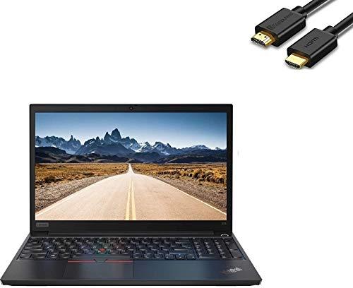 2020 Lenovo ThinkPad E15 15.6″ FHD Full HD (1920×1080) Business Laptop (Intel 10th Quad Core i5-10210U, 16GB DDR4 RAM, 512GB PCIe SSD) Type-C, HDMI, Windows 10 Pro + HDMI Cable