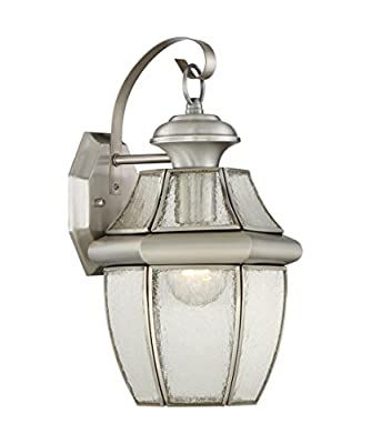 "Quoizel NY8409 Newbury Outdoor 1 Light 14"" Tall Outdoor Wall Sconce,"