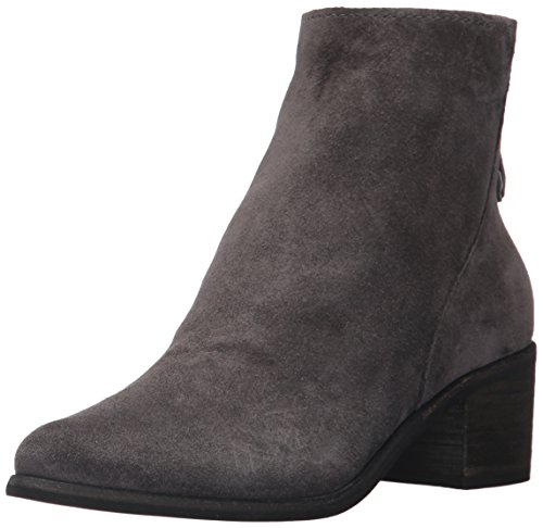 Dolce Vita Women's Cassius Ankle Boot, Anthracite Suede, 12 Medium - Ladies Designer Boots