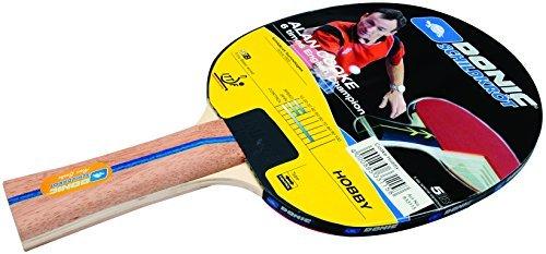 Donic Schildkrot Alan Cooke Hobby Table Tennis Bat - Brown by Donic-Schildkroet by Donic-Schildkroet