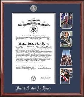 bfac039724ed Amazon.com - Church Hill Classics US Air Force Certificate Frame ...