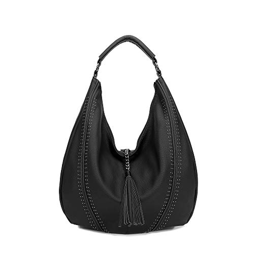 Handbags for Women, Hobo Shoulder Bags Large Compacity Tote Purses With Tassel Decoration -
