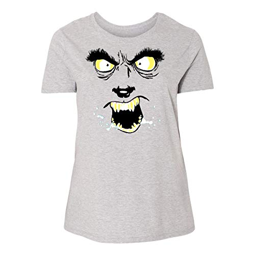 Inktastic Monster Faces Wolfman Women's Plus Size