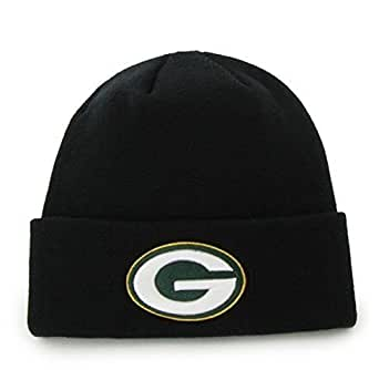 Amazon.com : 47 Brand Green Bay Packers Black Basic Raised