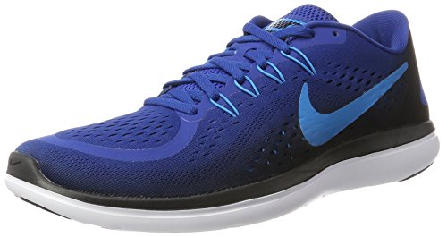 Galleon - Nike Men s Flex 2017 RN Gym Blue (9.5 936f5c456