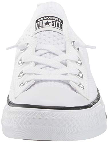 14efa1a8 ... Converse Women's Chuck Taylor All Star Shoreline Knit Slip On Sneaker,  Black/White, ...