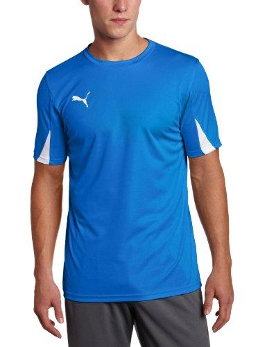 Puma Team Shirt, Puma Royal-White, Medium
