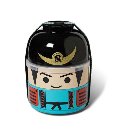 Miya Tomodachi Bento Set, Samurai, Blue by MIYA