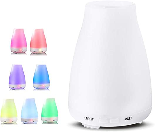 XRX Aroma Diffuser 500ml Large Capacity 7 Color LED Light