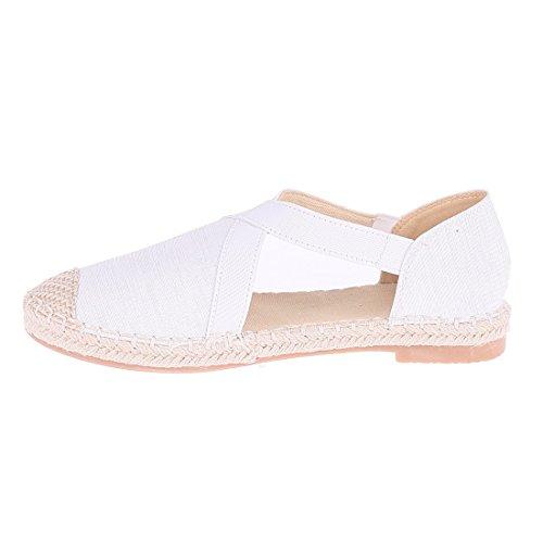 bianco Bianco Ballerine donna CATISA bal4 fd258 0WwRXqqpv
