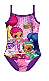 Koo-T Girls One Piece Swimsuit Character Swimming Costume Size Age 2 3 4 5 6 Years Official Licensed (Shimmer & Shine (037), 3-4 Years)