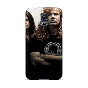 Durable Hard Cell-phone Case For Samsung Galaxy S5 With Custom High Resolution Amon Amarth Band Image JohnPrimeauMaurice