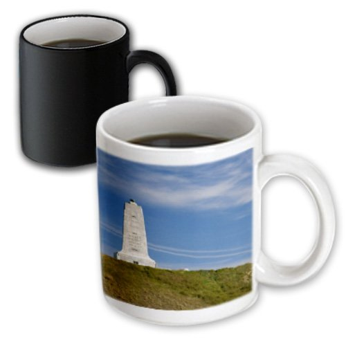 - 3dRose Wright Brothers National Monument, N.C. - David R. Frazier, Magic Transforming Mug, 11-Oz