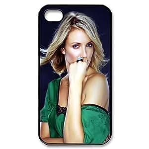 DesignerDIY Custom Artistic Cover 2013 Hot Movie Star Series Cameron Diaz Hard Shell Case For iphone 4/4s IP4Jan25026