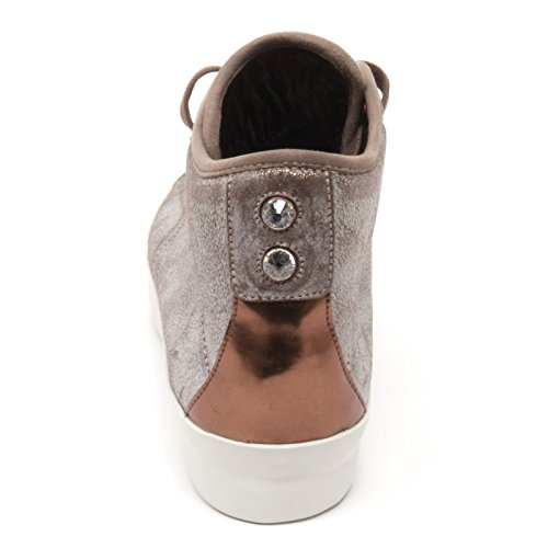 Shoe Grigio Donna marrone Alta Marrone Scarpa B6640 London Sneaker grigio Woman Alexander Smith OCSq7xFzw