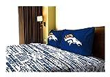 NFL Anthem Denver Broncos Bedding Sheet Set: Full