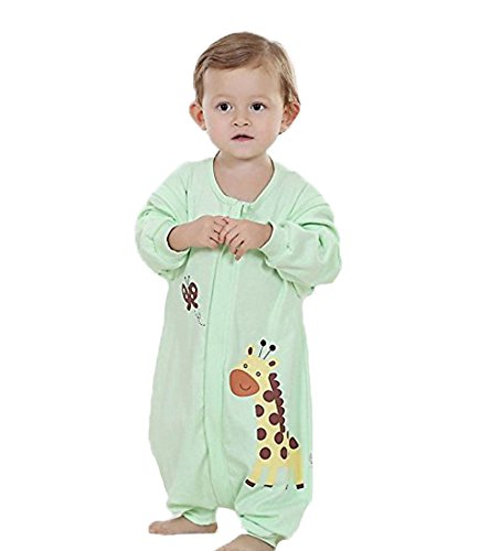 Wearable Condition (Quavey Walker Toddler Sleep Bag  Cotton  Long Sleeves Wearable Blanket with Feet Kids Boys Girls Clothes)