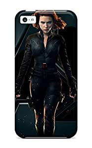 First-class Case Cover For Iphone 5c Dual Protection Cover Black Widow Natasha Romanoff BY icecream design