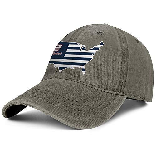 NIANLJHDe Unisex MenCool Dad Hat Sanpback Charcoal-Brad-Keselowski-Fan-Nation-USA-Flag- Outdoor Activities Baseball Hat -