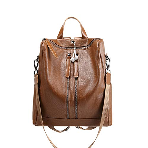 Women Backpack Purse PU Leather Fashion Travel Casual Rucksack Lightweight School Shoulder Bag