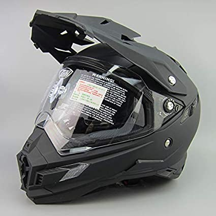 Lsrryd Cascos de la Motocicleta, Visera Integral del Casco Motocross para Honda Yamaha Kawasaki Bandit