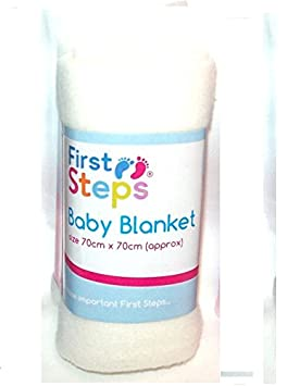 FIRST STEPS FLEECE BLANKET