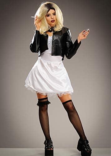 Disfraz de muñeca asesina Estilo Chucky para Mujer Medium (UK 10 ...