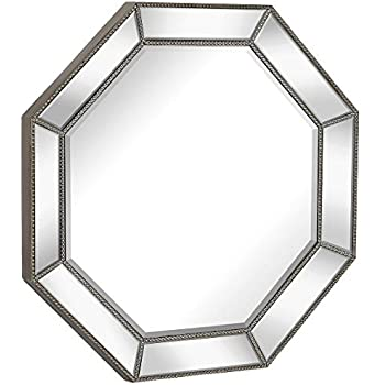 Amazon Com Kate And Laurel Rhodes Octagon Framed Wall