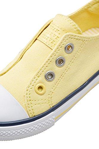 next Niñas Zapatillas de Deporte Sin Cordones (Niña Pequeña) Limón