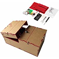 New Useless Box DIY Kit Useless Machine Birthday Gift Toy Geek Gadget Fun Office Home Desk Decor By KTOY