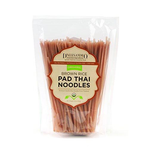 Organic Brown Rice Pad Thai Noodles, 12 Oz Bag