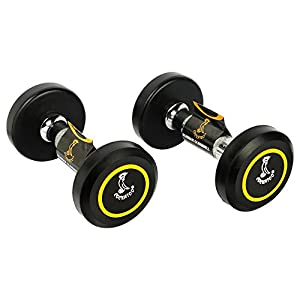 Cockatoo Rubber Coated Dumbbells India