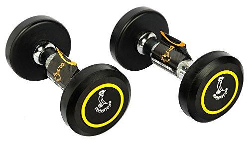 Cockatoo Professional Round Dumbbells, Senior 5kg Pack of 2