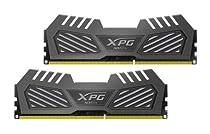 ADATA XPG V2 DDR3 2400MHz (PC3 19200) 16GB (8GBx2) Memory Modules, Tungsten Grey (AX3U2400W8G11-DMV)
