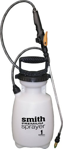 Smith Premium 190363 1-Gallon Multi-Purpose Sprayer for Killing Weeds, Cleaning, or Applying (Gallon Premium Sprayer)