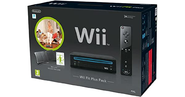 Wii Fit Plus Pack Nero: Amazon.es: Videojuegos
