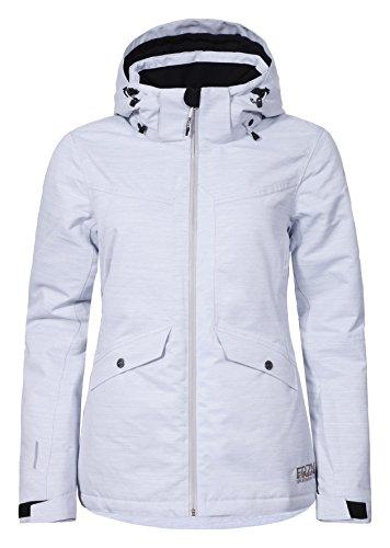 Femme de Ski Blanc Veste Ice Peak Katlyn qwtvXT